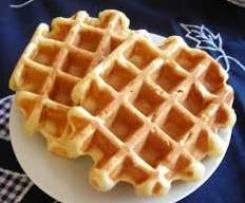 Waffle sin huevo