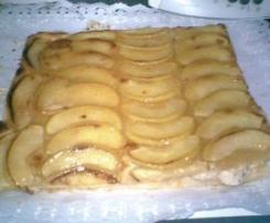 Plancha de manzana (foto)