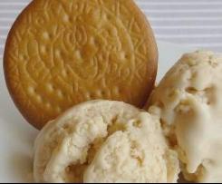 Helado galletas María