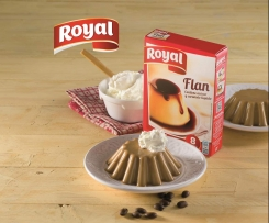 Flan Royal® de café con licor