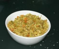 Curry ligero de verduras y arroz