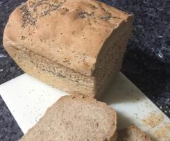 Pan de molde con masa madre natural