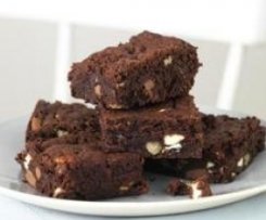 Brownie en microondas