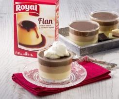 Flan 3 Chocolates Royal®