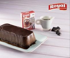 Pastel de queso y chocolate by Royal®