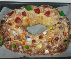 Roscón de Reyes esponjoso
